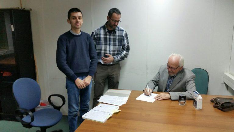 Parterstvo K2 potpisalo Ugovor sa Ministarstvom