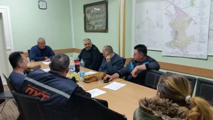 Radni sastanak u Kovilju